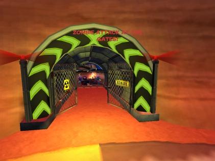 Zombie Attack Gate